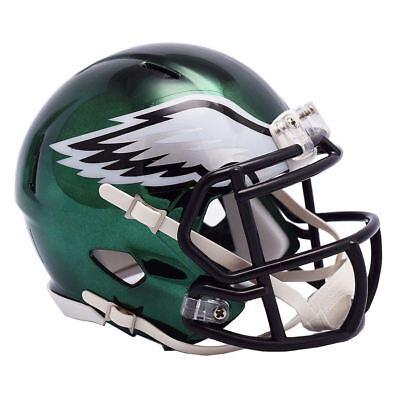 Riddell NFL Philadelphia Eagles Mini Helmet Speed Chrome Alt