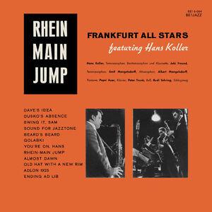 FRANKFURT ALL-STARS Rhein Main Jump Hans Koller Mangelsdorff AUDIOPHILE LP !