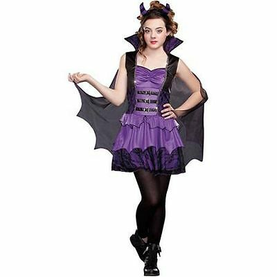Girls's Wicked Beauty Teen Purple Black Halloween Costume Sz. Small - NEW](Halloween Costume Teen Girls)