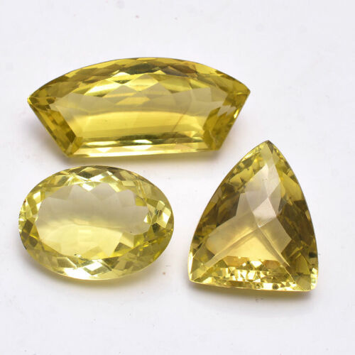 VVS 127.00 Cts Natural Yellow Citrine Untreated Top Quality Gemstones 25mm-39mm