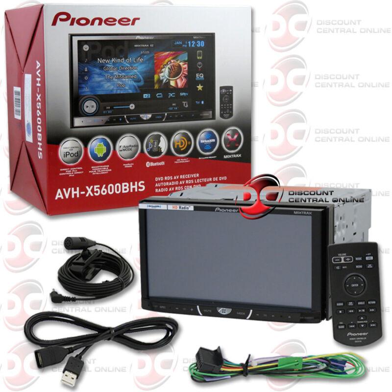 "Автомагнитола PIONEER AVH-X5600BHS 7"" DOUBLE DIN TOUCHSCREEN на eBay"