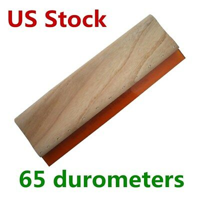 Us 13 Silk Screen Print Squeegee Scraper Scratch Board Waterbase 65 Durometers