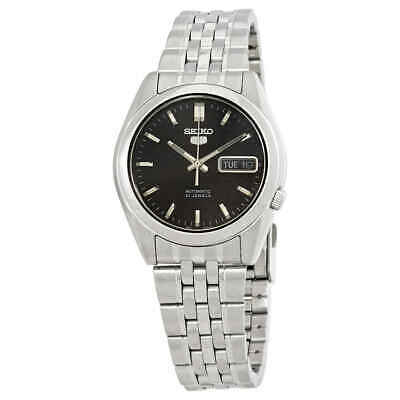Seiko Series 5 Automatic Black Dial Men's Watch SNK361