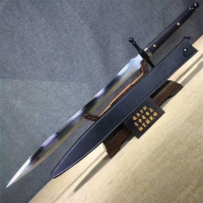Fighting Sword - High Quality Fighting Jian Sword Katana Sharp Manganese Steel Blade Full Tang