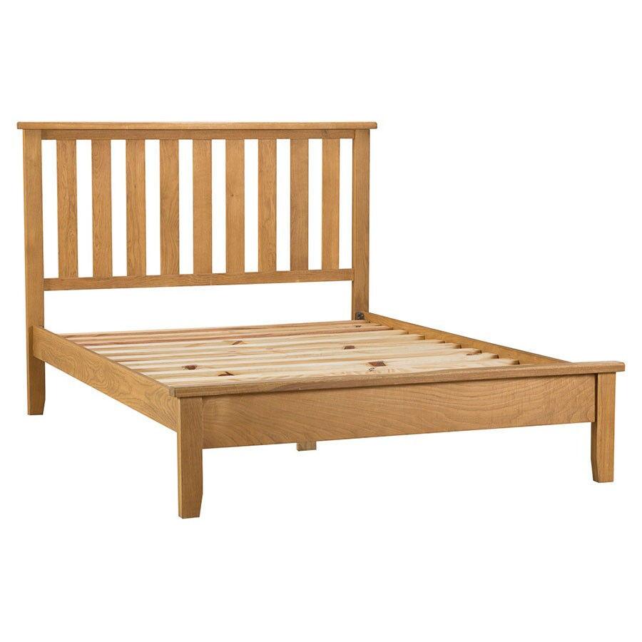 Stockbridge Wooden Double Bed Frame