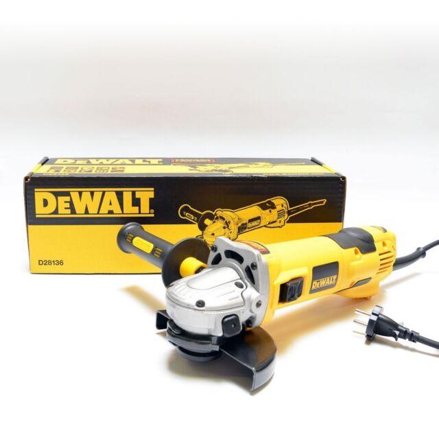 DeWalt D28136 Winkelschleifer 125mm, 1500W