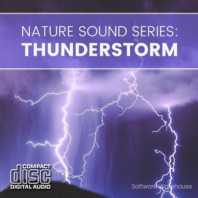 Nature Sound Series: Thunderstorm - Sleep Aid - Meditation - Relax - CD Audio