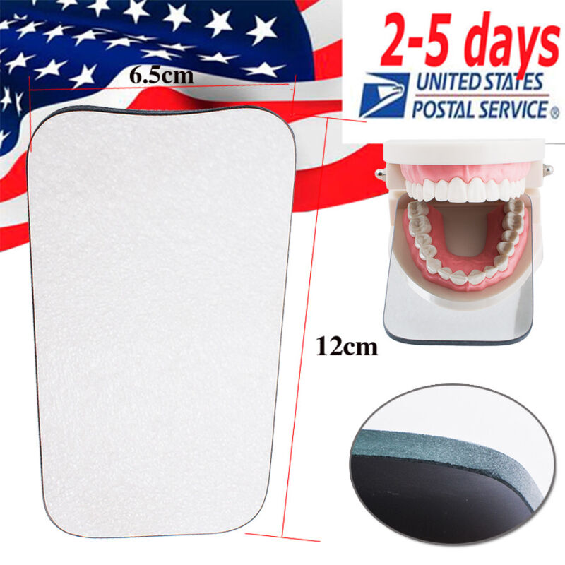 2-sided Dental Glass Photographic Mirror Intraoral Orthodontic Occlusal USA