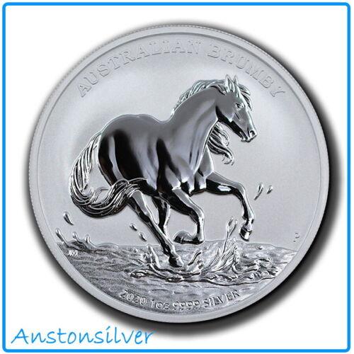 2020 Australia Brumby 1 oz Silver BU Encapsulated - 1st Release ! - *IN STOCK*