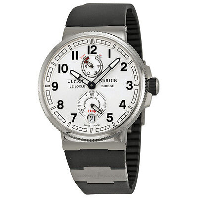 Ulysse Nardin Marine Chronometer Silver Dial Mens Watch 11831263/61