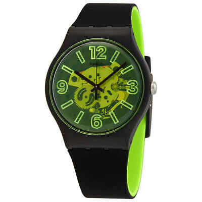 Swatch Yellowboost Quartz Unisex Watch SUOB166