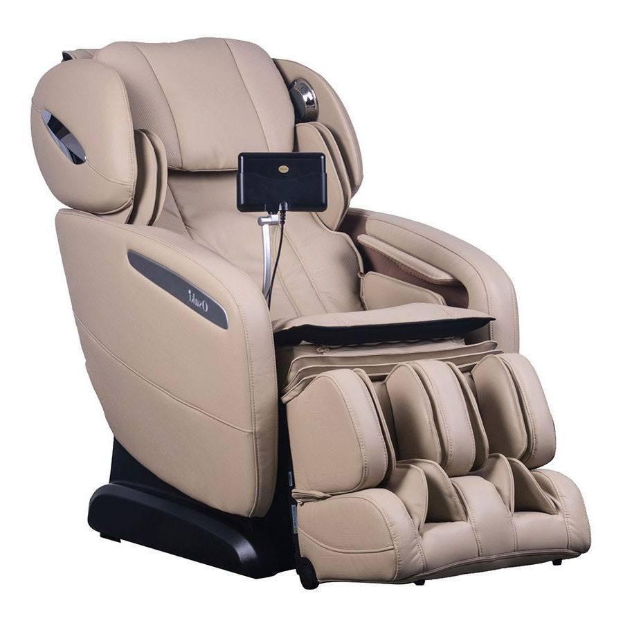 Osaki OS-Pro Maxim SL-Track Heated ZeroG Massage Chair Ivory