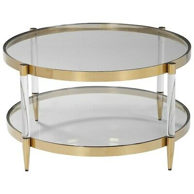 Uttermost Kellen Glass Coffee Table - 24895