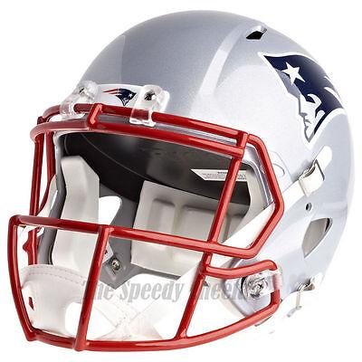 NEW ENGLAND PATRIOTS RIDDELL SPEED  NFL FULL SIZE REPLICA FOOTBALL - New England Patriots Helmet