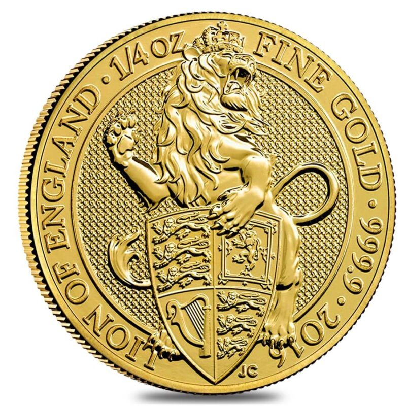 2016 Great Britain 1/4 Oz Gold Queen