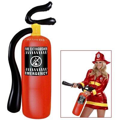 AUFBLASBARER FEUERLÖSCHER # Feuerwehrmann Feuerwehr Kostüm Party Fest Deko - Aufblasbarer Mann Kostüm