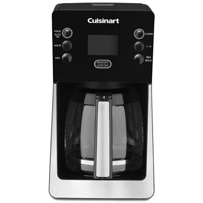 - Cuisinart Coffee Maker 14-Cup Black Programmable Quality Digital Display Brew