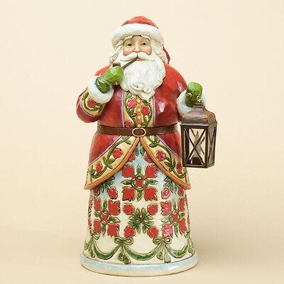 Jim Shore Colonial Williamsburg Virginia Santa Figurine ~ 4034423
