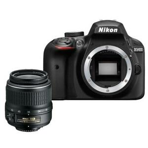 NEW--D3400 with 18-55mm VR Kit (ON SALE) WITH FULL NIKON WARRANTY