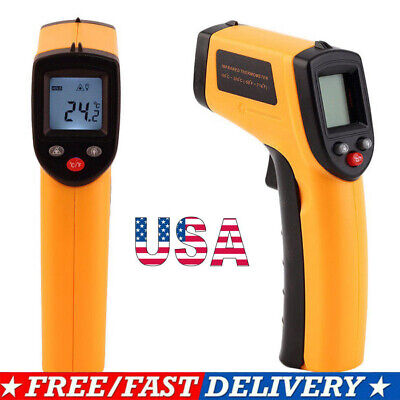 Non-contact Digital Laser Ir Infrared Thermometer Temp Meter Temperature Gun
