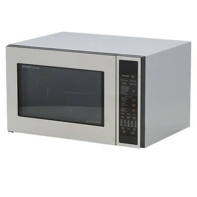 Sharp 1.5 cu. ft. Countertop Convection Microwave Stainless Steel R-930CS #2