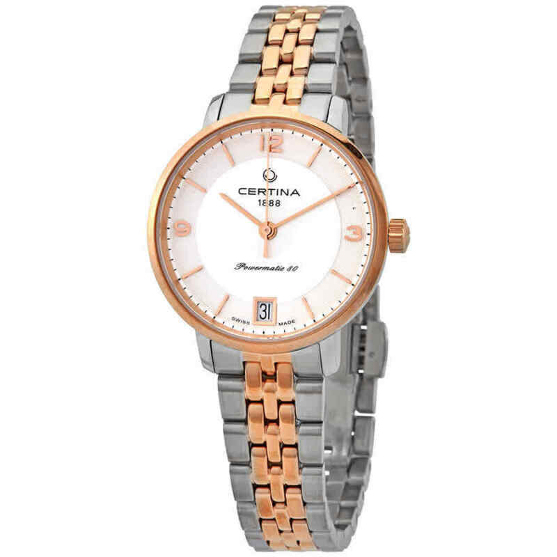 Certina-DS-Caimano-Automatic-Silver-Dial-Ladies-Watch-C035.207.22.037.01