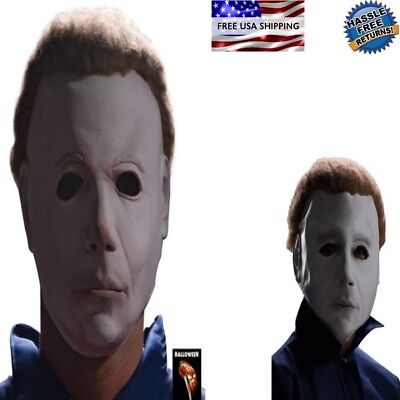BEST SCARY CHEAP Child Kids Michael Myers Latex Mask for Halloween Costume Party (Halloween Costumes Cheap For Kids)