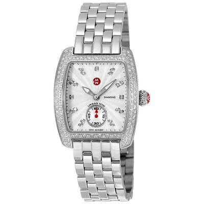 Michele Urban Mini Diamond Dial Steel MWW02A000508 29mm Ladies - Mini Urban Diamond Watch