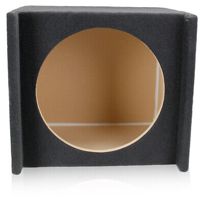 1.65 ft³ SEALED SHALLOW-MOUNT DOWNFIRE ENCLOSURE SPEAKER BOX FOR 15