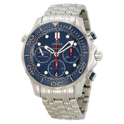 Omega Seamaster Diver Automatic Chronograph Men's Watch 21230425003001
