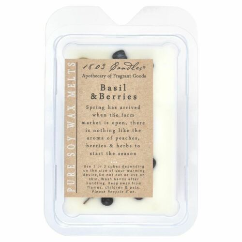 1803 Candles - Melters - Basil & Berries MBB