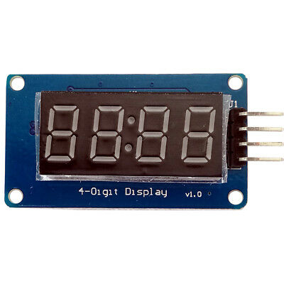 1 X 4 Bits Tm1637 Digital Tube Led Clock Display Module For Arduino Due
