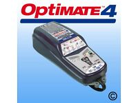 Optimate 4 battery charger.