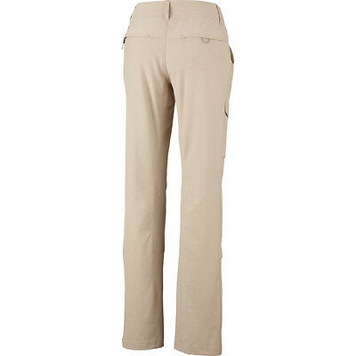 New  Kestrel Ridge  Roll Up Pant Womens  Long  Columbia Sportswear Size 16 Sand