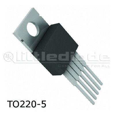 Lm1875t Integrated Circuit - Custodia To220-5 Make National Semiconductor