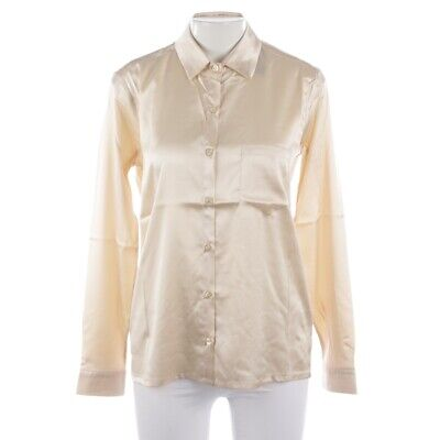 Incentive! Cashmere Silk Blouse Size XS White Ladies Top Shirt Blouse New