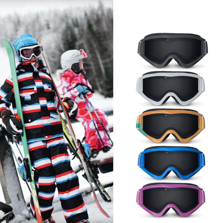 hive outdoor republic Kinder 4-10Jahre Skibrille Schneebrille UV400 Antibeschlag