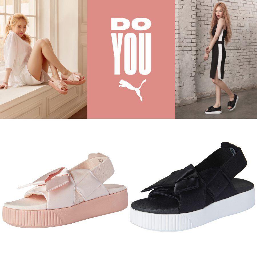 018ff0f8d5 PUMA Platform Slide WNS K Beach Sandal Shoes 36774601 36774602 SZ4 ...