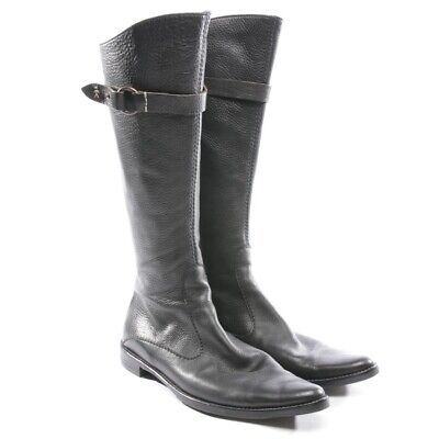 Henry Beguelin Boots Size Black Women Shoes Boots Shoes Leather