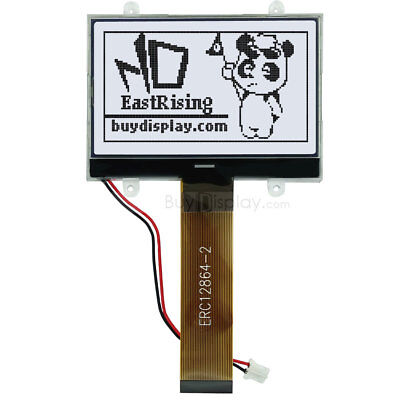Lcd Displayserial Spi Cog Module3.3v128x64 Graphic Black White Wtutorial