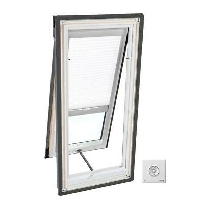 Velux White Solar Powered Light Filtering Skylight Blind for Model VSE (Solar Light Filtering Blinds)