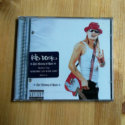 Kid Rock - History Of Rock [PA](2000), Rare Original Korean 1st Pressing CD, New