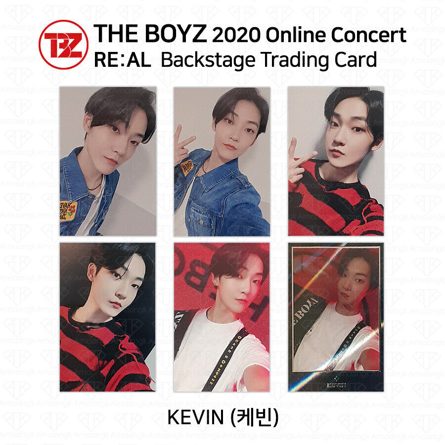 THE BOYZ 2020 Online Concert RE:AL Backstage Trading Card ...