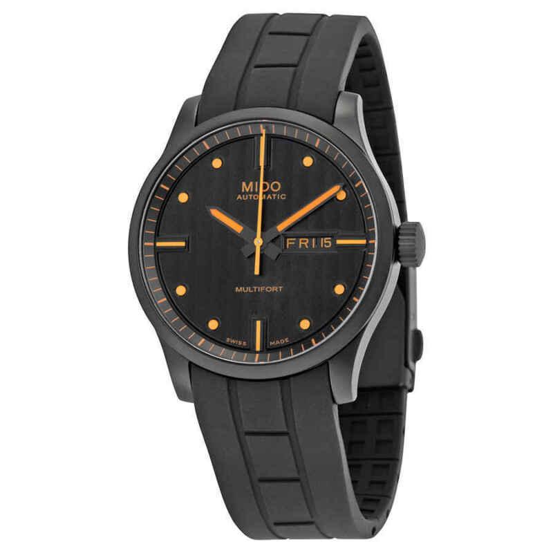 Mido Multifort Automatic Black Dial Men Watch M0054303705180