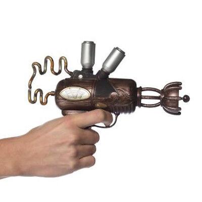 Steampunk Spacegun Weapon Gun Pistol Adult Halloween Costume Handheld Prop
