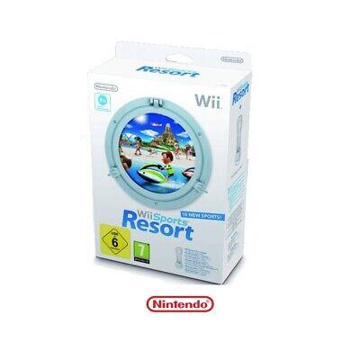 Juego Wii SPORT RESORT + Wii MOTION de NINTENDO