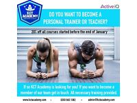 Trainee Tutors, Assessors and Personal Trainers / Gym Instructors are Required Across London