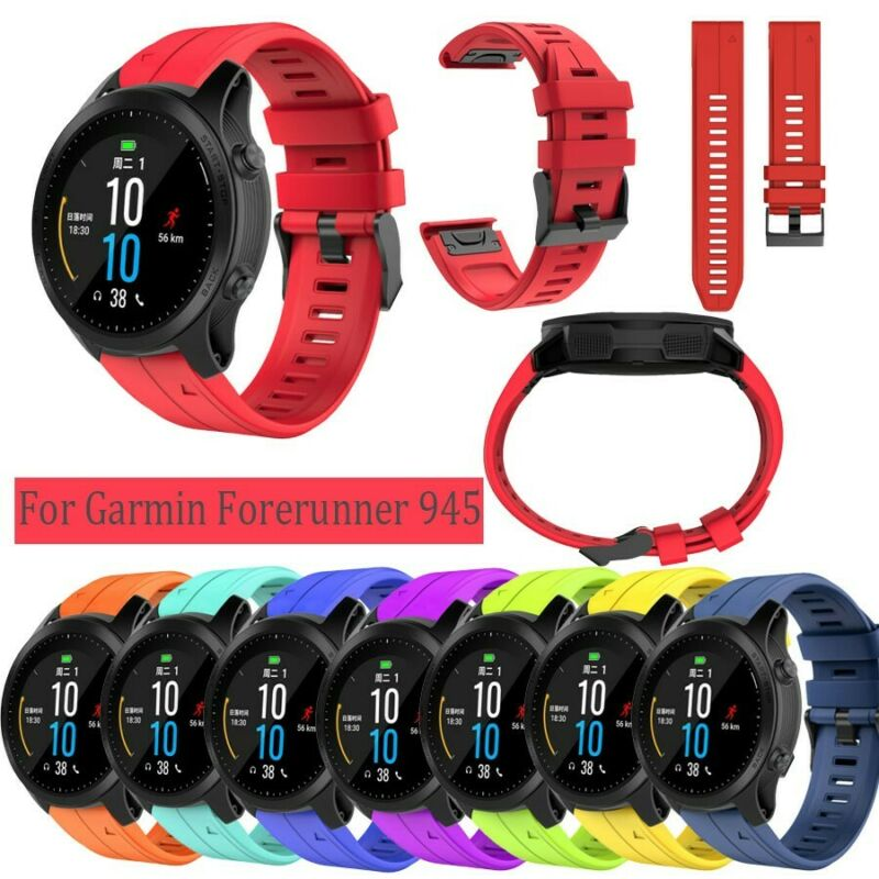 Soft Sport Silicone WristBand Replacement Band Strap For Gar