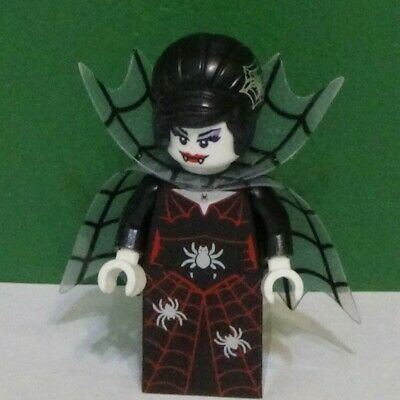 Lego Minifigure - SPIDER LADY - Series 14 - COL226 - HAPPY HALLOWEEN