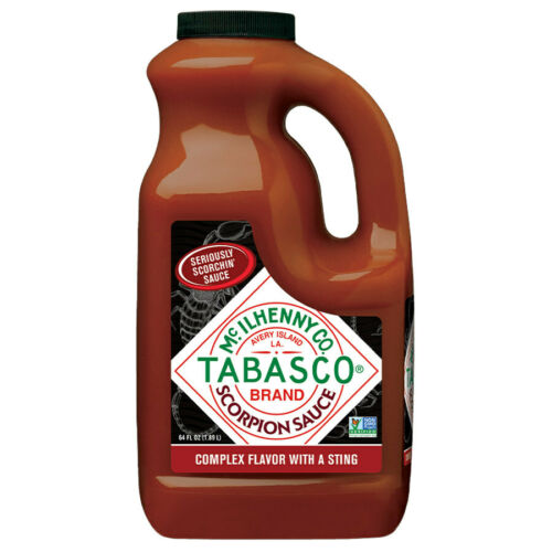 TABASCO 64 oz Hot Sauce 1/2 Gal. Choose From 9 Flavors click drop down